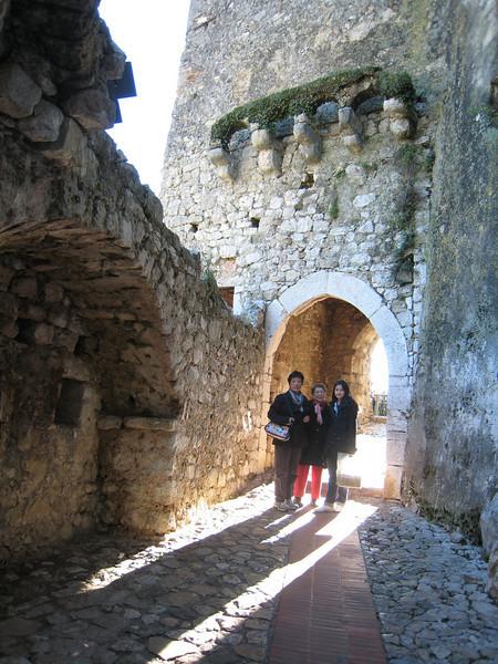 Entrance to Eze Village.