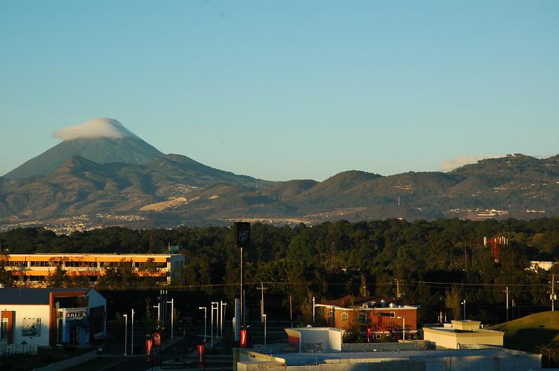Shots from Guatemala City hotel sun deck