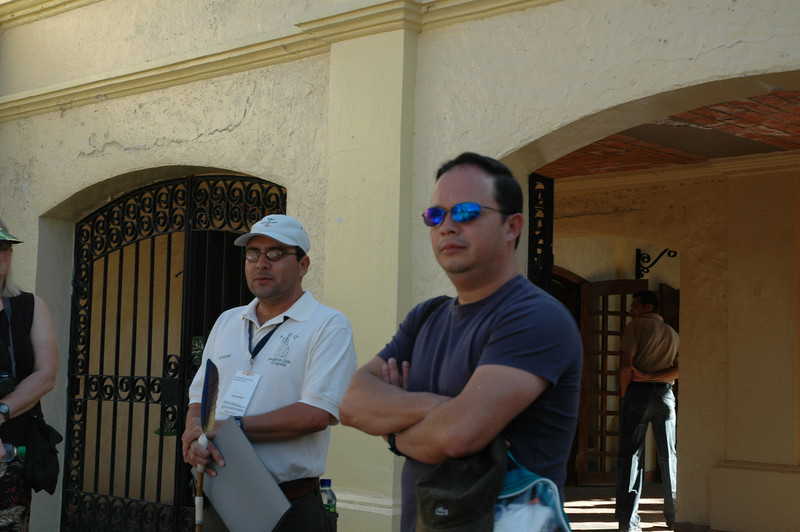 Our Copan guide, Oscar (left) and our tour guide, Jorge.