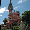 Guatemala City shots from bus window