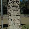 Stelas in the Sculpture Garden