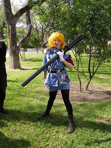 Why would a female vampire need a bazooka?