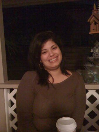 Tamara at Mom's place