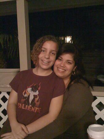 Tamara and Becky