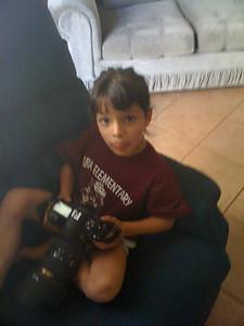 Lexi likes my Nikon