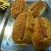 hot dog buns with the hotdog builtin