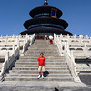 Mike on the steps of the Temple of Heaven where the Emperor prayed yearly(?) for good fortune and harvests