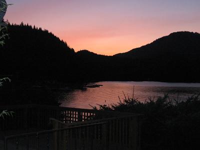 2009 trip to Lake Sutherland (July)