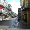 Bourbon Street in the morning