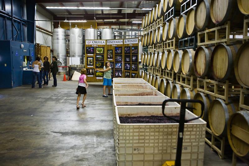 Orfila Winery San Diego, CA