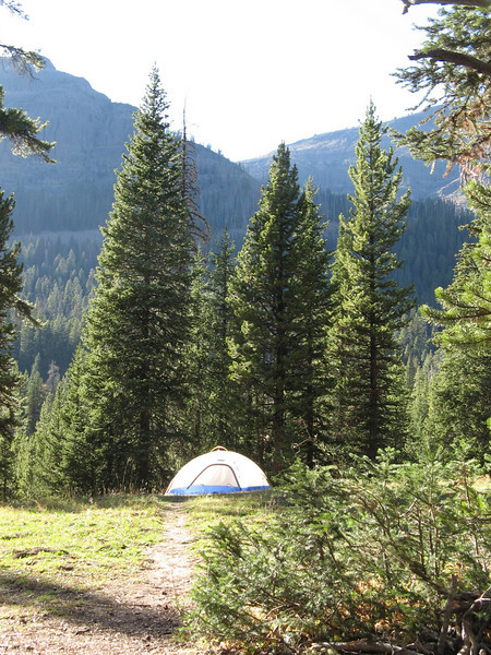 It is a gorgeous place for camping.