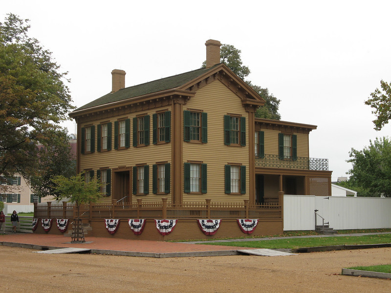 Lincoln's only owned home in Springfield, IL.