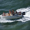 Party boat escort