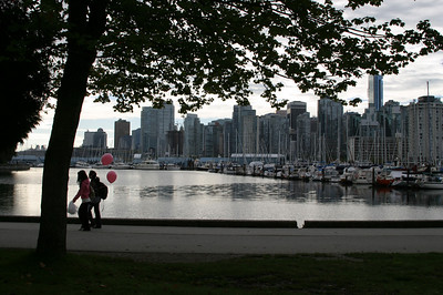 Stanley Park.  Great place to skate, bike and run.