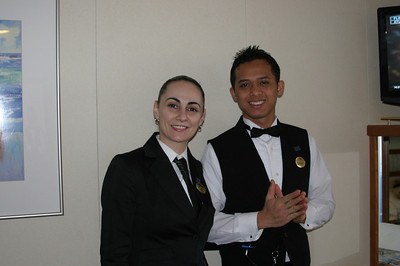 Ana Marie & Made Mas - our servers for the evening.  Impeccable service.
