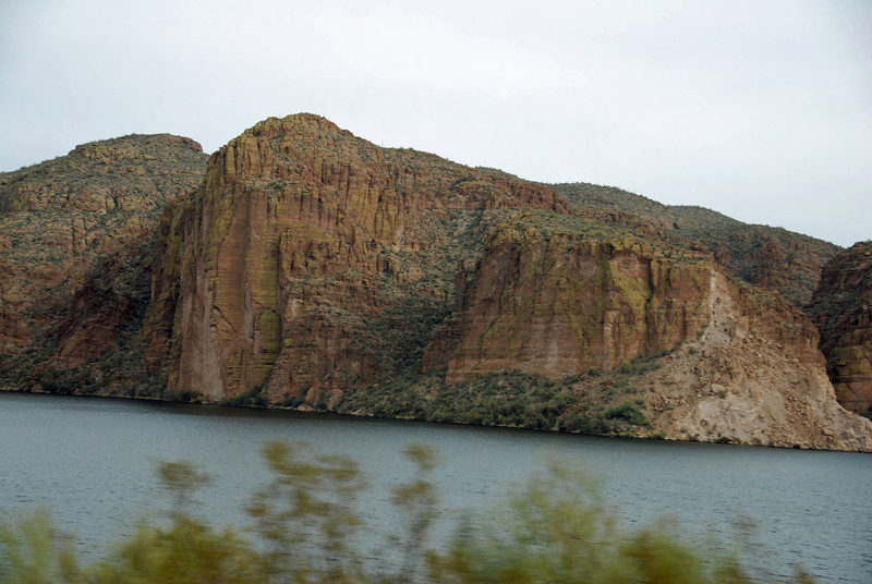 Canyon Lake drive-by