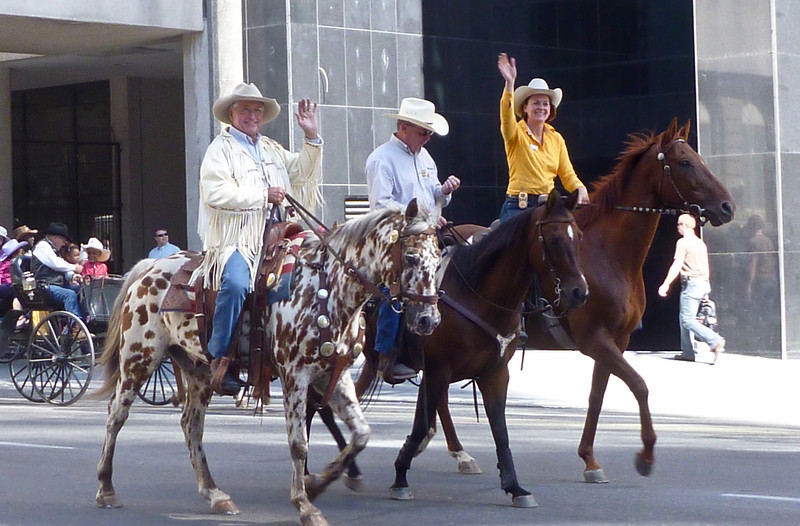 Parades in downtown for Stampede