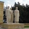 Scenes from the Mausoleum of Mustafa Kemal Ataturk...