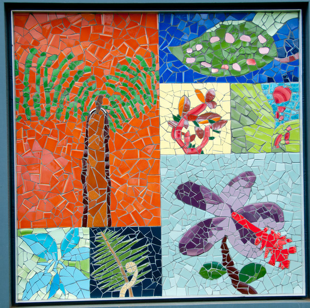 Tim saw these mosaics and loved them