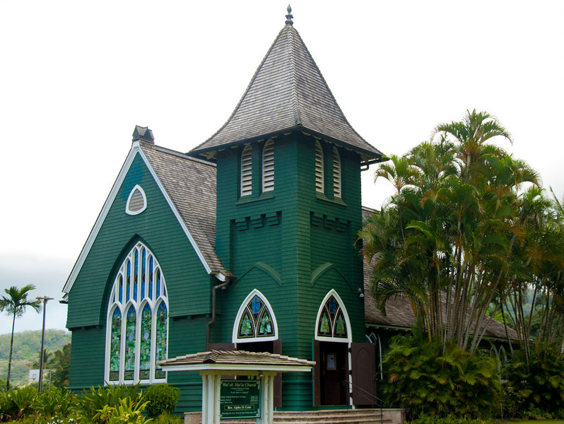 The church of Hanalei