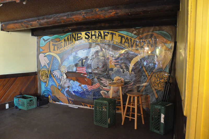 The Mine Shaft Tavern...