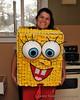 """Sponge Bob, Square Pants"" Charnel's Halloween costume."