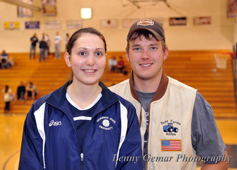 Lindsay Meyer and Anton Neff