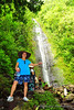 Claire and Manoa Falls