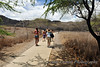 Monday is Diamond Head day. We begin our hike with a camera and a fresh bottle of water...