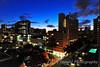 Waikiki Honolulu at sunset