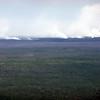 plumes of steam from the active Kīlauea volcano