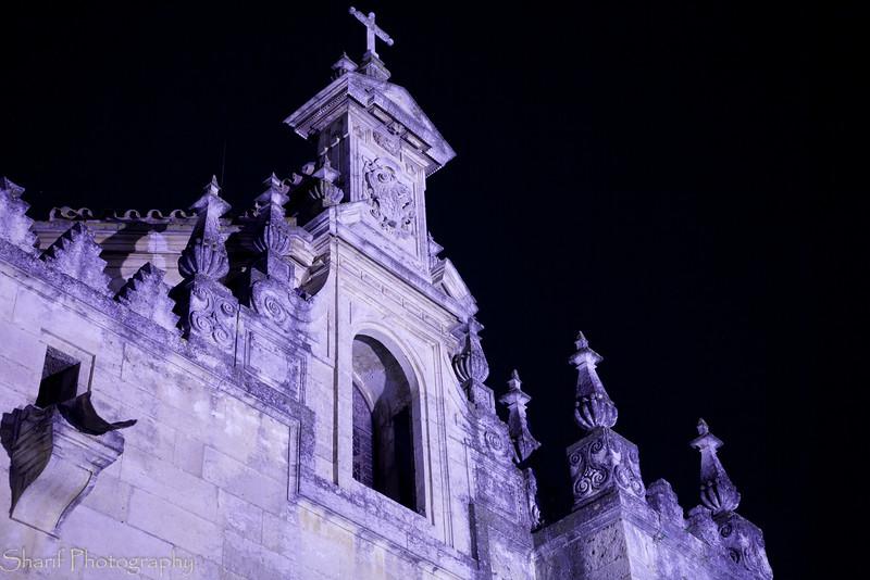 Spooky chuch facade