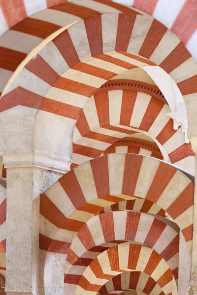 Arches in Moorish mosque