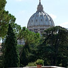 another view of St Peter's from inside Vatican City