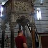 in the Pisa baptistry