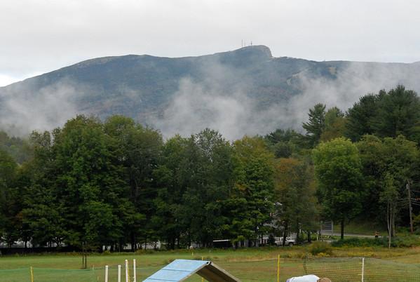 2011-09-06 Day 2 Foggy Morning at Dog Camp