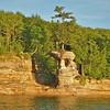 Chapel Rock; Pictured Rocks, Nat'l Lakeshore, Mi