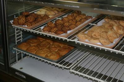 They also have a small bakery inside La Bombonera.