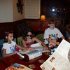 Kennedy, Audrey and Austin at Red Lobster
