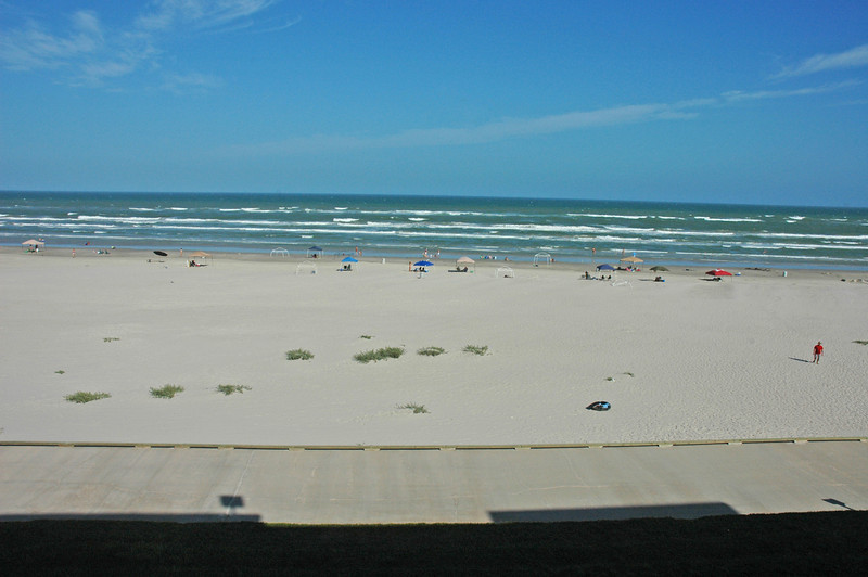 View from our room in Corpus