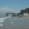 The beach at North Padre Island