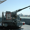 Quad 40mm anti-aircraft gun
