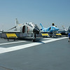 planes on the flight deck