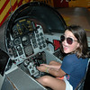 Audrey in an F4 Phantom trainer