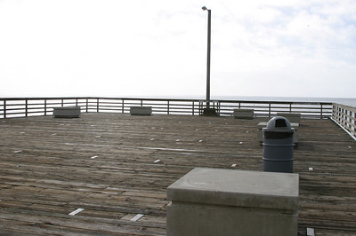 We walked to the end of Avila Pier.
