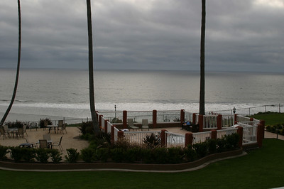 and an outstanding view of the Pacific.