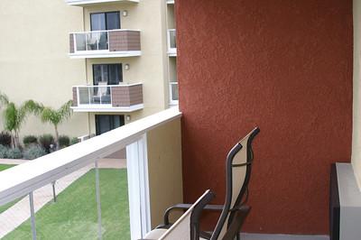 Nice balcony.