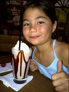 Now, that's a real chocolate shake!