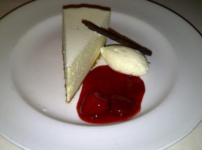 NY classic cheesecake.