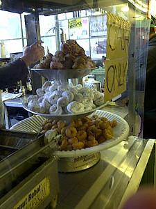 mini doughnuts.  Flash back to my childhood on the hostess minis.  :-)